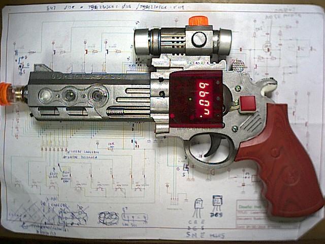 Prototipo de revolver 1