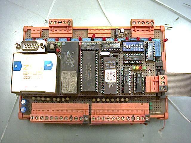 Plc modular ensamblado
