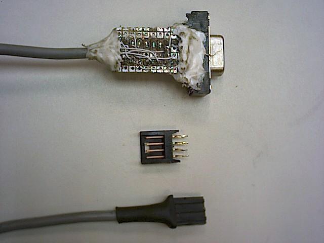 Detalle del cable
