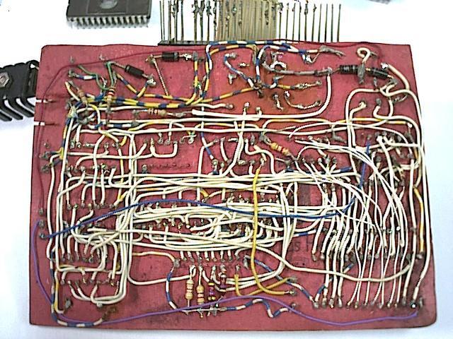 Cableado del grabador de EPROM